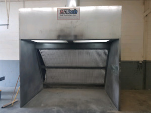 Spray Booth   Used