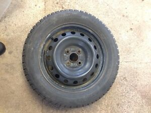 FOUR GRISLAVED WINTER TIRES - 195/55/R15 89T London Ontario image 5
