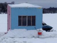 Lake Nosbonsing Ice Hut Rentals