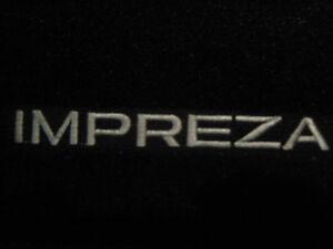 Subaru Impreza Summer Mats. NEW 2012 and up