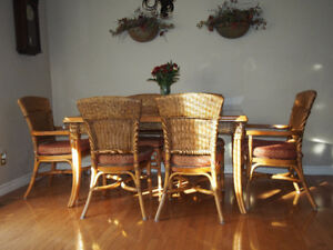 Boca Rattan - Table and Chairs