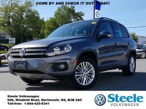 2015 VOLKSWAGEN TIGUAN Special Edition - VW Certified, Off lease
