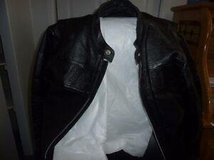 Manteau BMW en cuir