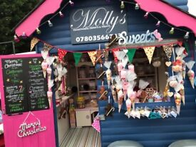 Mobile Traditional sweet shop FOR SALE
