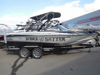 2010 Malibu Wakesetter VLX - Original One Owner only 70 HOURS!