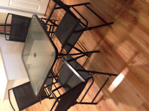 Barely used patio set