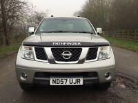 Nissan Pathfinder sve satnav reverse camera 7 seater