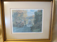 PETER ETRIL SNYDER FRAMED PRINT, NUMBERED & SIGNED