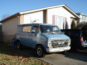Chevy Short Box Van- Excellent Winter Project.
