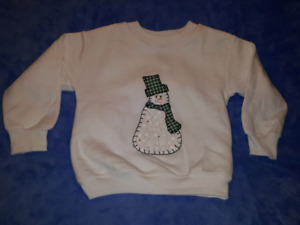 Garanimals Winter/Holiday/Christmas Theme Sweatshirt 24mts/2T