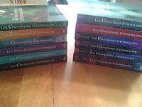 Collection livres Les chevaliers d'émeraude