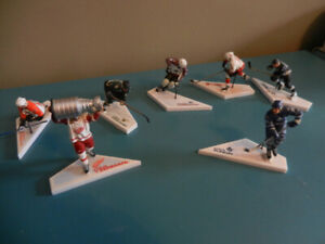"Mcfarlane NHL 3"" Figures Yzerman, Lemieux,Sundin Lot of 7 HOF"