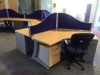 Office desks and chairs for sale