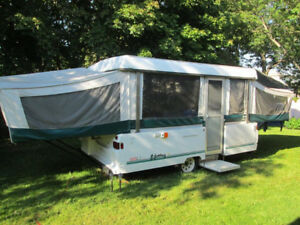 SOLD PPU Coleman Sun Valley Pop Up Camper