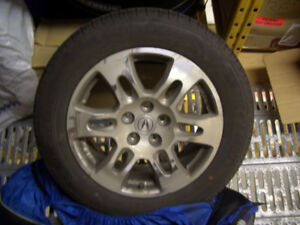 Set 4 summer tires and mags