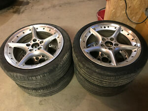 Tires and Rims from 2008 BMW Z4