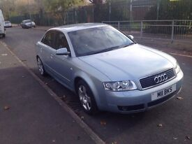 2002 audi A4 2.5 diesel special edition manual