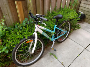 "Triumph Raleigh Mid-size 15"" girls /teen bike for sale"