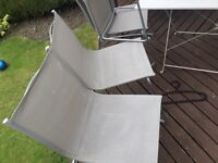 Sold sold now Garden 4 chair 1 table 1 swing 1 cantilever parasol garden umbrella
