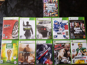XBOX 360 W/ Acessories and games London Ontario image 4