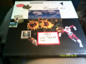 Stamps - Canada Annual Collection 1995 +