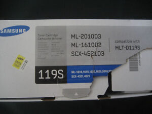 Toner for laser printer Samsung