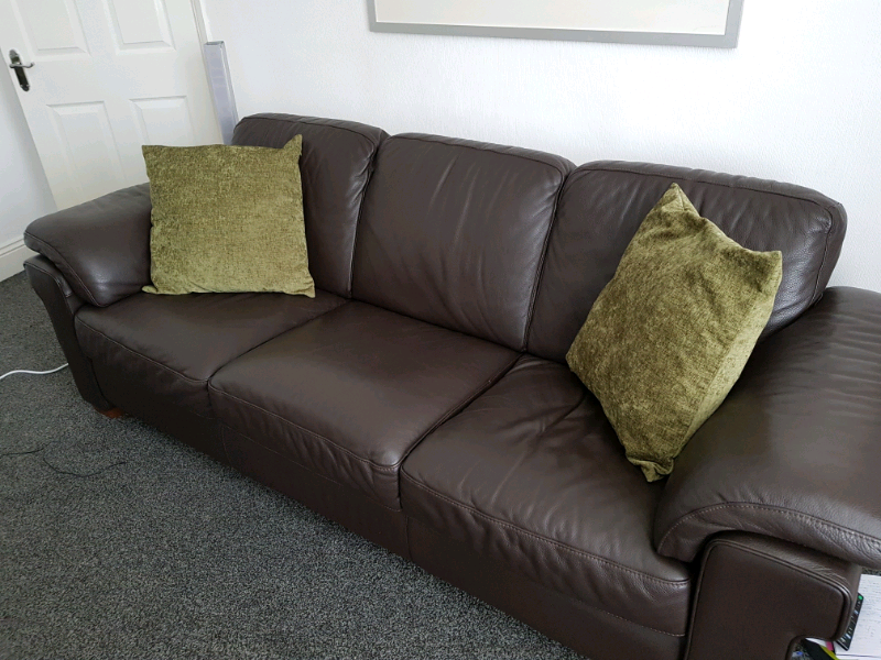 Fabulous Top Quality Leather Sofas Chair Foot Stool In North Shields Tyne And Wear Gumtree Theyellowbook Wood Chair Design Ideas Theyellowbookinfo
