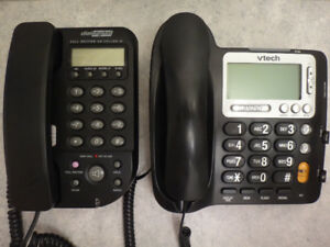 DialDigital CP2892C and VTech CD1281 Caller ID Corded Phones