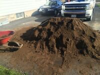 Dirt and rock deliver !!!and custom landscaping and walkway