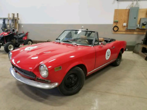 1972 FIAT 124 spider convertible project