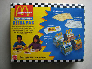McDonald's Happy Meal Magic refill pack and other toys