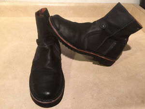 Men's Josef Seibel Leather Zipper Boots Size 9 London Ontario image 6