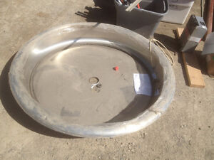 Brand New Industrial Stainless Steel Sink