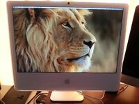 "Apple IMac,  24"" core 2 duo 2.16 Ghz  (fin 2006)"