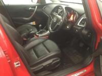 2014 Vauxhall Astra 1.6 i VVT 16v Elite 5dr Petrol red Manual