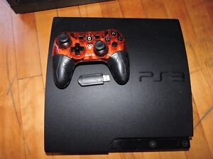 PS3 +7GAMES +WIRELESS JOYSTICK ONLY 160$