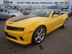 2011 Chevrolet Camaro 2SS   Leather Heated Seats