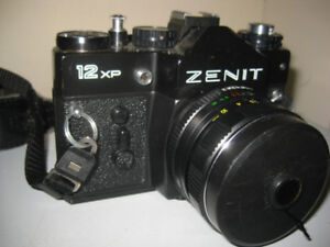 Zenit 12XP,  SLR 35 MM camera w Helios 44m-4 2/58
