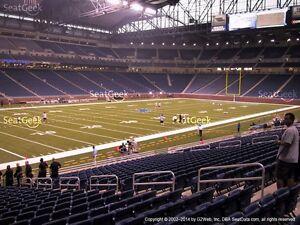 Detroit Lions vrs Chicago Bears