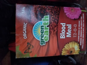 Organic Blood Meal (price reduced)
