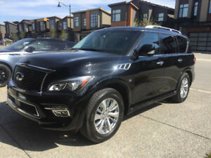 2015 INFINITI QX80 Tech Package with 100k KMS