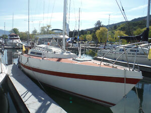 25 FT (7.5M)  Tanzer  SAILBOAT FOR SALE.