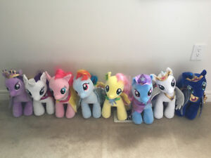 My Little Pony  build a bears and bin of build a bear clothes