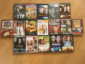 17 Various DVDs - Some new