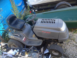 mtd pro 17.5 hp riding lawn mower shift on the go