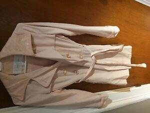 womens jessica simpson light pink jacket