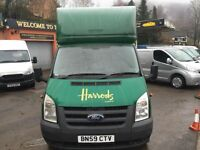 MAN AND VAN (HELPER -PORTER) HOUSE REMOVALS PACKING SERVICE (OFFICE REMOVALS) PIANO REMOVALS (