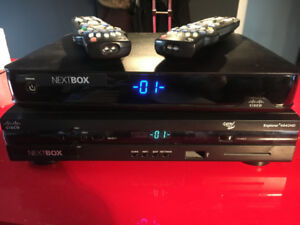 WORKING Nextbox 4642HD with Remotes