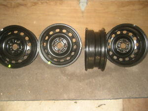 Honda Civic wheels as new