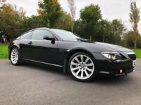 2007 BMW 630 i SPORT *** LOW MILES 81000 F.S.H *** STUNNING CAR ***